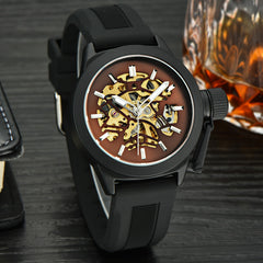 MCE Men Top Quality Automatic Men Luxury Fashion Stainless Steel Wrist watches