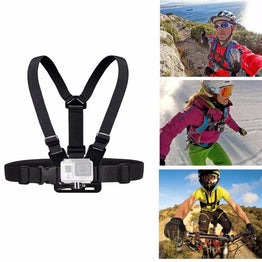 Chest Belt Action Camera Holder Sport  Adjustable Strap for Go Pro and SJCam