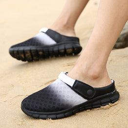 Causal Mesh Lazy Slip-on Flip Flops Sandals