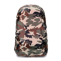 Camouflage RainCover 30-40L Protable Waterproof Backpack