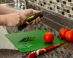 Color coded Cutting Boards Set of 4 flexible chopping mats