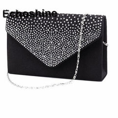 Ladies Evening Party Small Clutch Bag Bridal Purse Handbag
