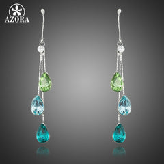 Elegant Austrian Crystal Charming Earrings for Women