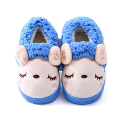 Cartoon Sheep Soft Comfortable Winter Slippers for Kids