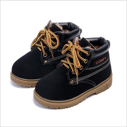 Fashion Winter Leather Boots for Kids