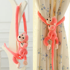 Long Arm & Tail Monkey Stuffed Plush Toys for Curtain