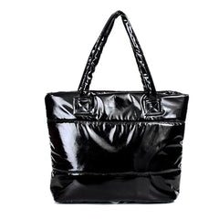 Women handbag feather bags New winter space bags han edition down cotton-padded