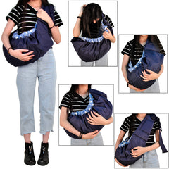 High Quality Organic Cotton Stretch sling front facing Baby carrier