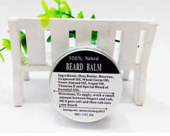 Natural Beard Oil 30G Conditioner Beard Balm for Beard Growth and Organic Moustache Wax