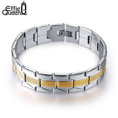 Stainless Steel Effie Queen Chain Bracelet for Men