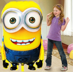 92*65cm Big Size Minions Classic Decoration Party inflatable air balloon