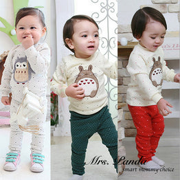 Spring style Infant Clothing set 2pcs(Full Sleeve + Pants)