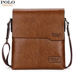 Men Shoulder Bag VICUNA POLO  Classic Brand Style Casual Men Crossbody Bag