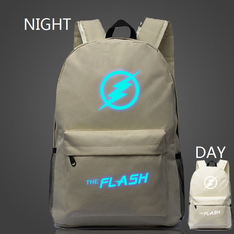 veevanv popular Marvel movie stars flash light backpack bag teenagers Backpack