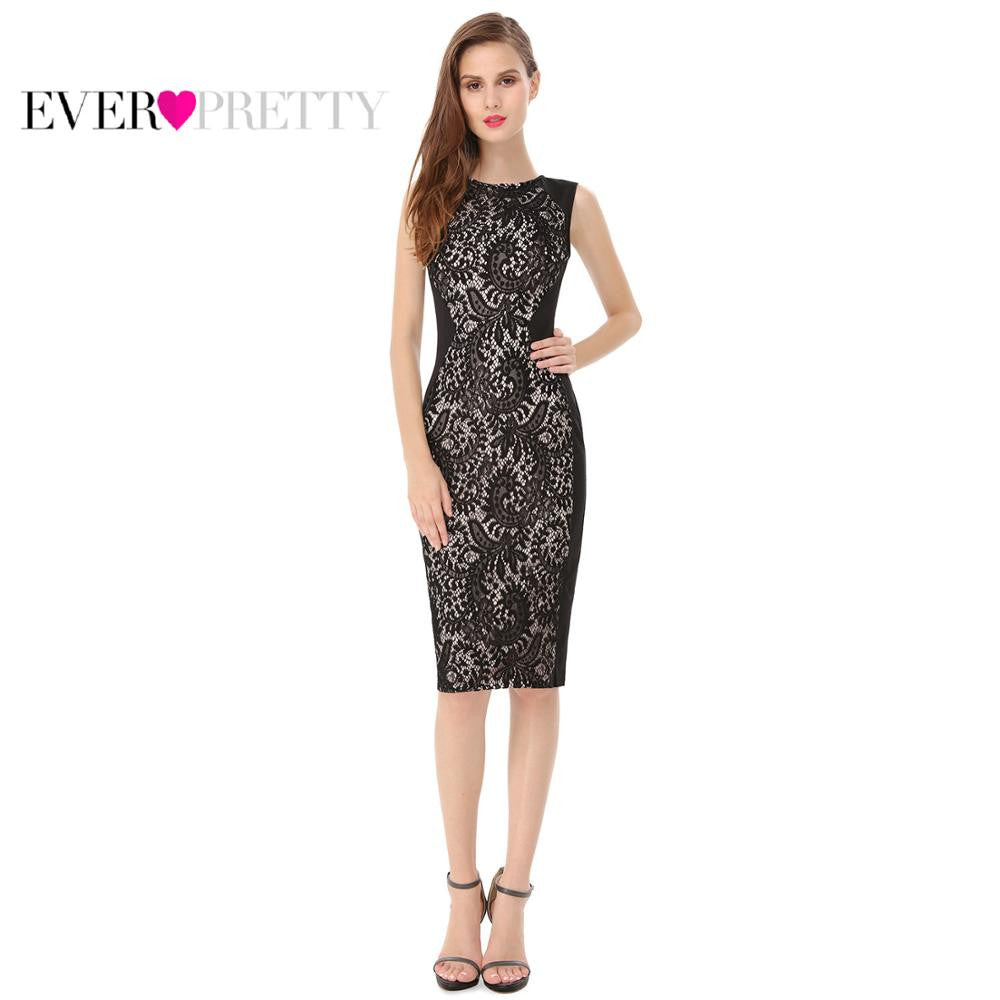 Cocktail Dresses Ever Pretty Charming Stylish Knee Length Sleeveless Party Dress