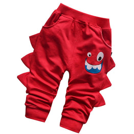 Cartoon Print Cotton trousers for boys / girls