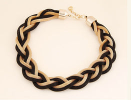 Hot Selling Gold Weave Link Chain Necklaces for Women