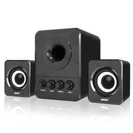 Usb Multimedia Stereo Computer Speakers 2.1 For PC Desktop Laptop, With Subwoofer