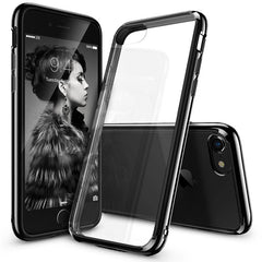 Artisome Cover Case For iPhone 7 / 7 Plus Fusion Crystal Clear Back Panel Side Silicone Protection