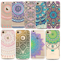 Floral Paisley Case For iPhone 6 6S 7 5 5S SE Plus 6Plus 6sPlus