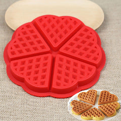 Silicone Waffle Mould Microwave Baking Cooking Tools Kitchen Accessories