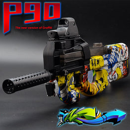 Electric Toy Gun Graffiti Edition Assault Sniper Weapon Soft Water Bullets