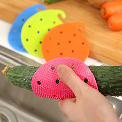 1 piece Multifunctional Plastic Easy Cleaning Brush Tool Vegetable Fruit Cleaning Brush