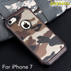 Army Camo Camouflage Shockproof Case for iPhone 7 4.7