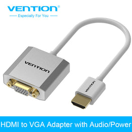 HDMI to VGA Adapter Digital To Analog Audio converter