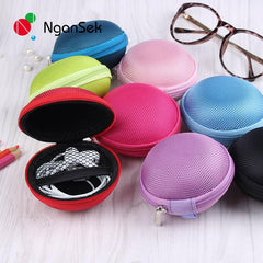 Colorful Storage Bag Case For Earphone, Earbuds SD Card, USB Cable and Phone Charger
