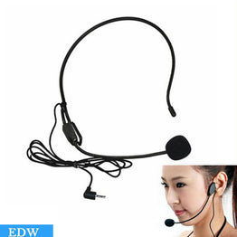 Mini studio Black For Voice Amplifier Speaker Headset Microphone