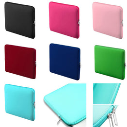 Protective Zipper Notebook Case for 11 13 14 15 inch For Macbook Air Pro Retina