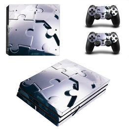 Puzzle Pattern Skins Sticker For Sony Play station 4 Console