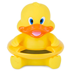 Cute Rubber Ducky Design Bath Tub with LCD Screen Water Thermometer