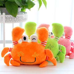 Crab Plush Cartoon Stuffed Soft Animals Doll for Kids