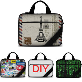 Cotton soft canvas laptop bag 15.6 case bag for macbook/hp/acer/lenovo