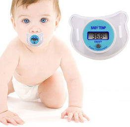 Portable LCD Digital Thermometer Mouth Pacifier