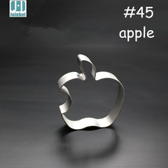 Apple shape aluminium alloy cookie cutter for pudding/Fruit/vegetable/toast