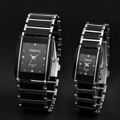 CHENXI Quartz Fashion Waterproof Wrist Watches Women and Men Lover Ceramic 2016