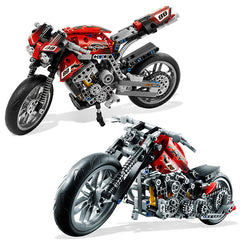 Motorbike Motorcycle Car Building Bricks Blocks
