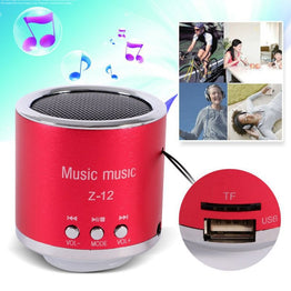 Portable Speaker USB Micro SD TF Card Mp3 Computer subwoofer Music box