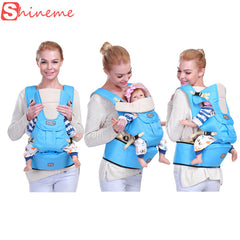Ergonomic Baby Carrier with Hood Cover