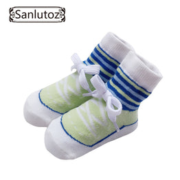 Sanlutoz Fashionable Shoes Pattern baby Socks