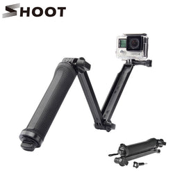 SHOOT 3 Way Waterproof Monopod Selfie Grip Tripod Mount