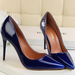 Gradient Color Sexy High Heels Stiletto Shoes