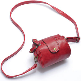 New Arrival high quality PU leather solid color crossbody bag for Women