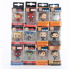 Funko Pop Marvel Super Hero Keychain Figures