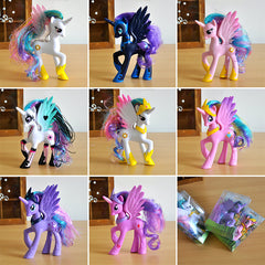 Funko POP Rainbow Horse Princess Luna PVC Unicorn Toys For Girls