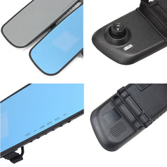 HD car camera dvr parking rearview mirror video recorder with night vision front camera mini dvr