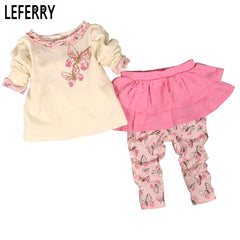 Baby Girls Newborn Infant Clothing Suit for Autumn